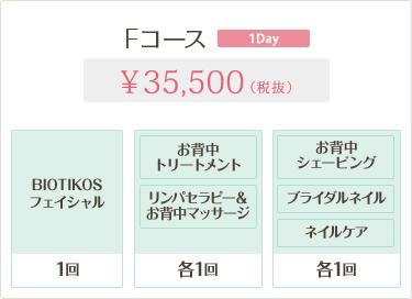 Fコース 35,500円