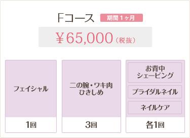 Fコース 65,000円
