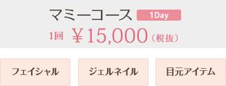 マミーコース 1回15,000円